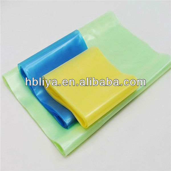 Manufacture plastic hand roll stretch blue film for sale