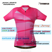 Promotion wholesale clothing/cycling jersey Digital Printing Cheap Custom Cycling Jersey For Women