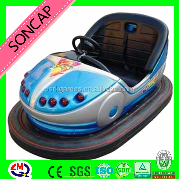 Amusement park rides playground indoor kids battery bumper cars
