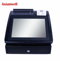 High quality & best price integrated pos system for lottery exhibition complete sets touch foe shantui spare parts