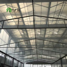 low cost agricultural rain shelter no welding parts one stop vertical indoor garden single span film greenhouse for sale