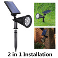 2-in-1 solar powered spot light new style simple creative decorative spotlight,LED stage lights,Ohter boads solar products