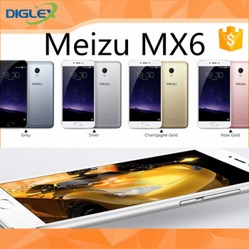 Newest arrival hot meizu mx6 3060mAh (Typ,Built-in) IMX386 COMS Flyme OS best cellphone