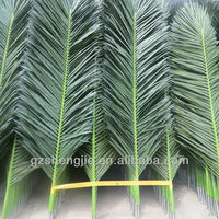 4m length large China leaf making artificial palm tree leave