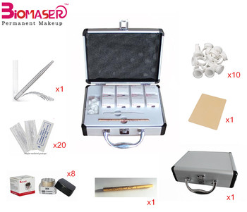Permanent makeup microblade eyebrows kit