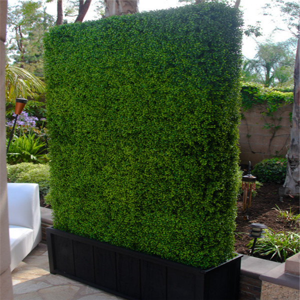 artificial leaf fence,artificial green boxwood hedge