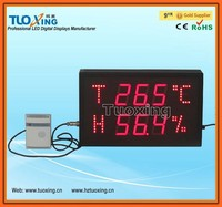 4 inch 3 digits LED digital hygrometer