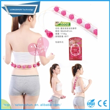 Plastic Self Rolling Body waist Back Slimming Care Roller Massager