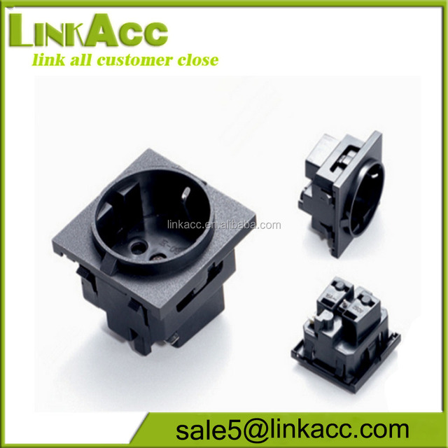 LKCL31 Round embedded sockets Germany and South Korea industrial sockets
