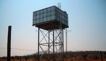 Elevated water storage tank/steel frame water tower /galvanized steel water tank