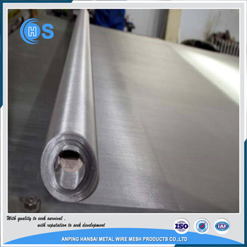 plain 25 micron 304 stainless steel wire mesh price per meter