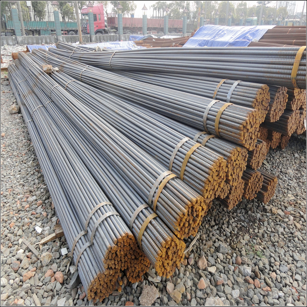 Hot Rolled deforming steel bar rebar steel with grade HRB400/ASTM A706 Grade 60reinforcing steel rebar for project material