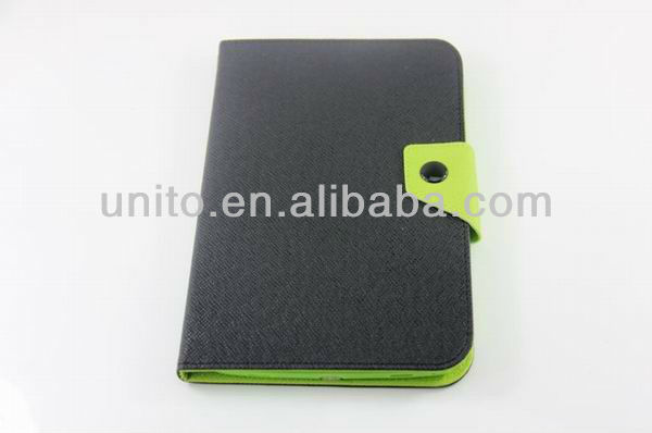 Stand PU leather case for samsung note 8.0 n5100