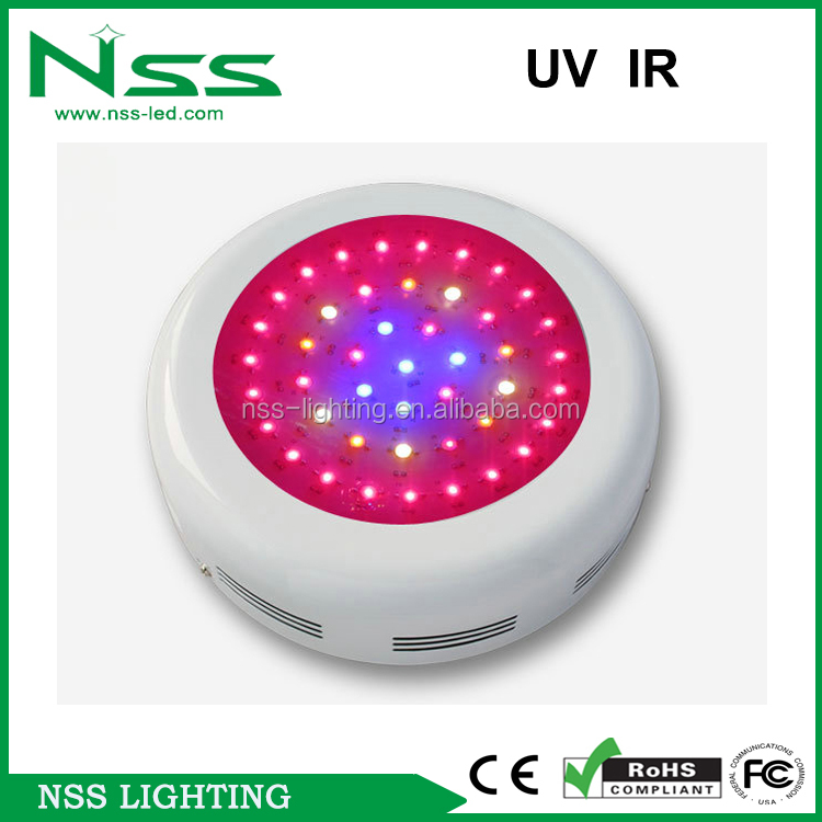 3 years warranty 216w UFO led plant grow light for plants growing