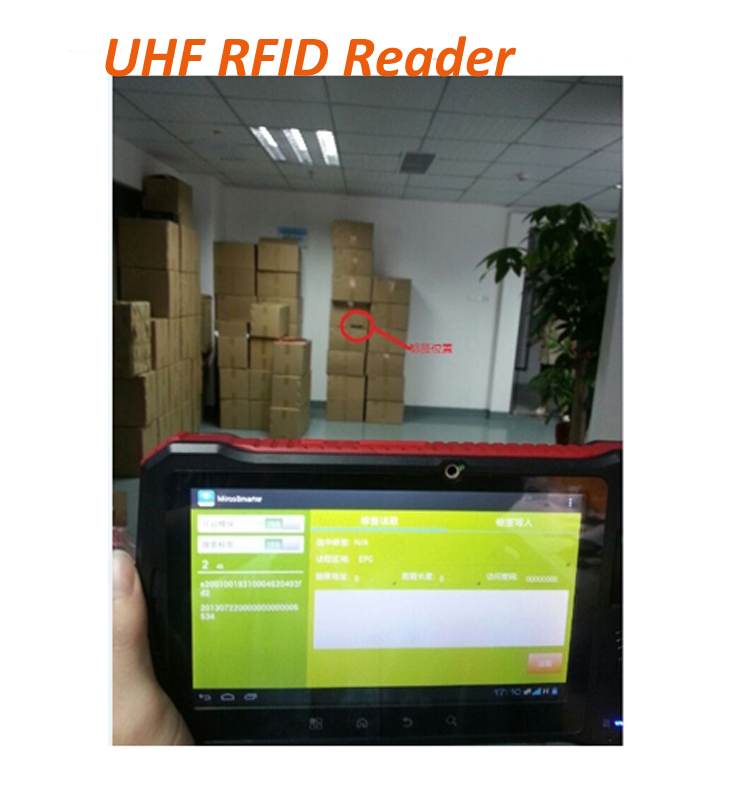 4G LTE Android 6.0 tablet pc 7-inch with rfid reader, fingerprint sensor