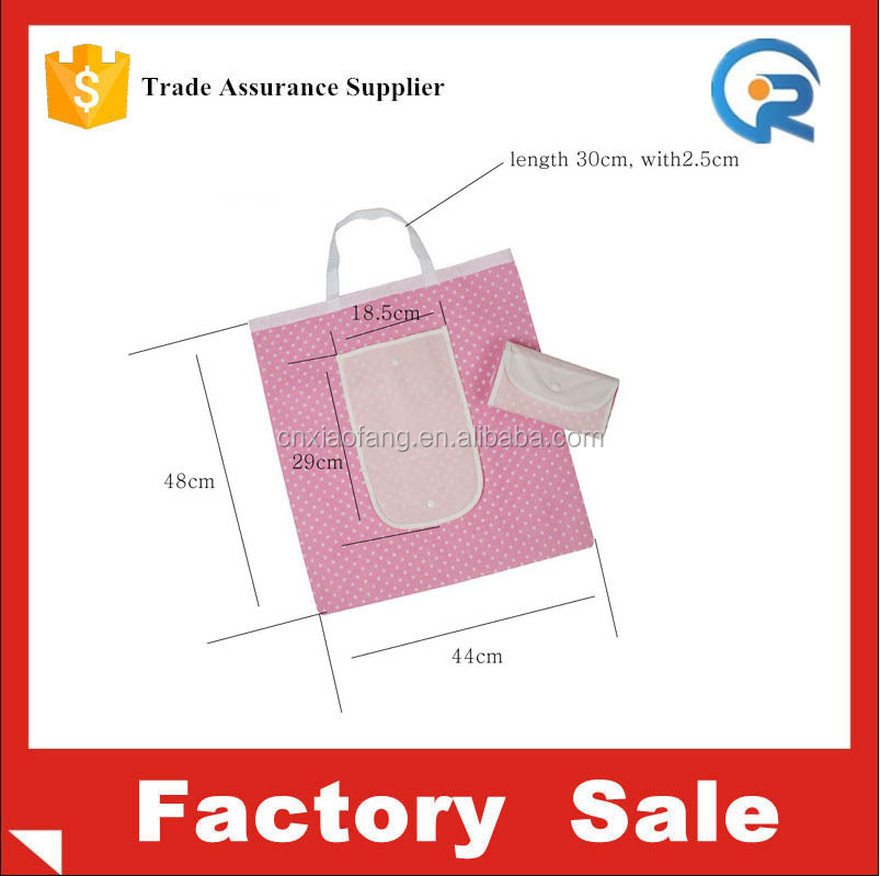 Hot sale silk printed eco friendly foldable non woven shopping resuable bag wholesale