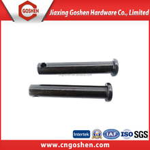 China oem factory carbon steel flat head straight clevis pin