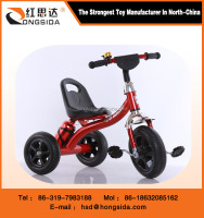 Kids ride on metal pedal tricycle
