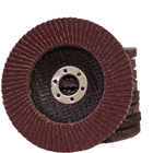 Zirconium corundum flap disc for polishing steel