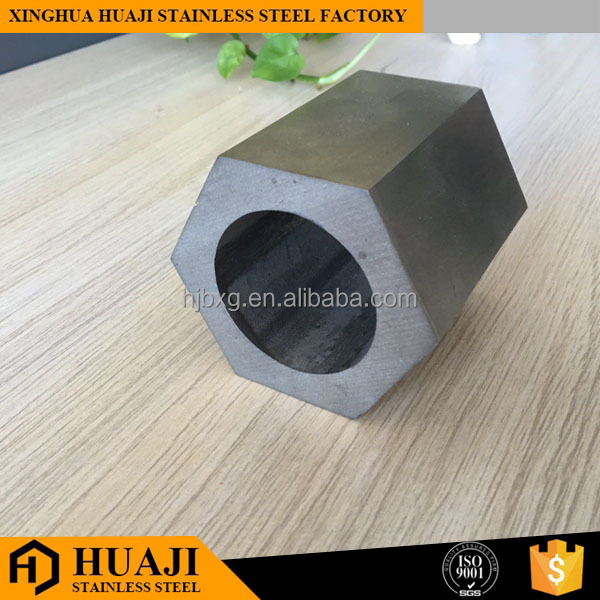 hollow hexagonal stainless steel pipe weight