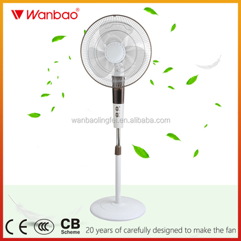 High quality Low Price 16 Inch Electric Stand Fan Will Full Copper Motor