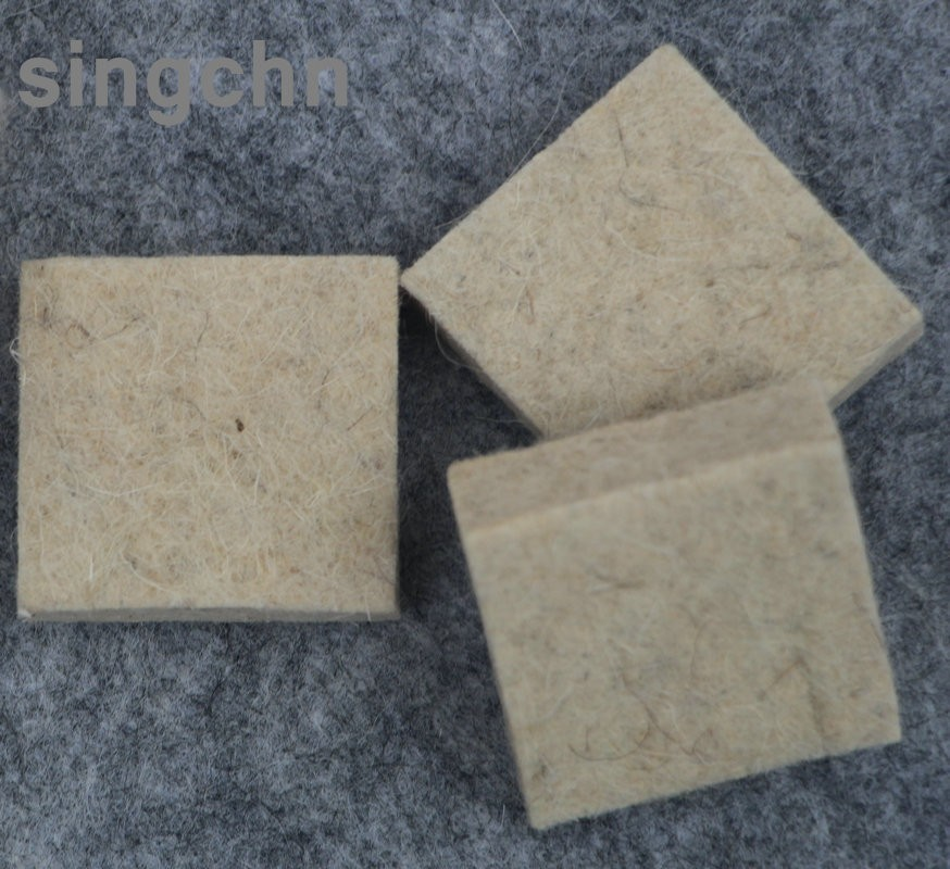 China manufacturer hot sale needle punched wool felt