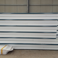 Low price ISO fireproof composite Optional Colors eps sandwich panel for suburban housing to turkey