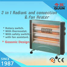 Excellent Design 2 in 1 Radiant and Convector Heater Electric Outdoor Heater