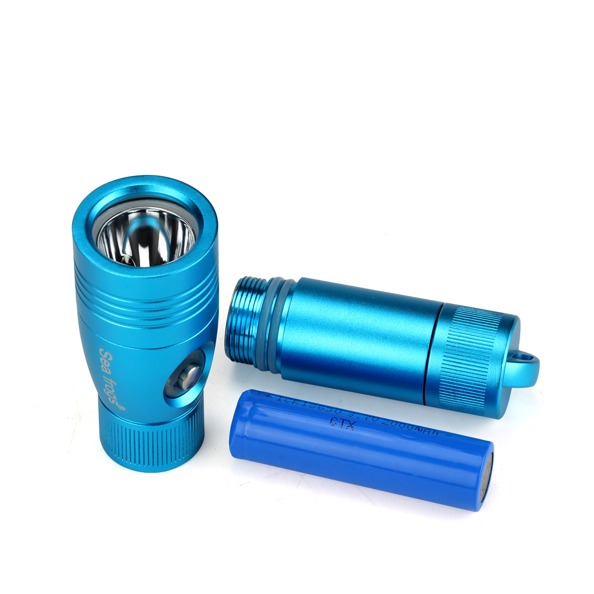 OEM Patent Factory Genuine Original High Quality underwater video light most powerful led diving flashlight blue light led torch