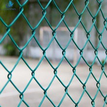 Direct factory discount cheap chain link fence slats chain link wire mesh fence
