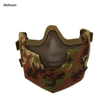Factory Price hot selling tactical half face painball mask goggles CL9-0055