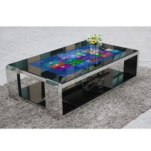 65 inch interactive HD lcd multi touch screen conference table