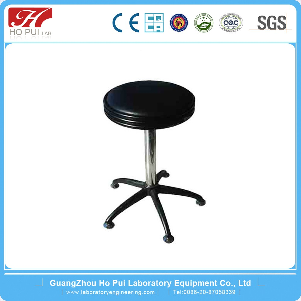 Professional Chemical Resistant Height Adjustable Chair Stainless Steel Lab Stool