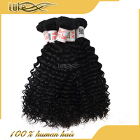 Full Cuticle Top Quality 6A Grade Deep Wave 12 Inch Indian Remy Hair Extensions