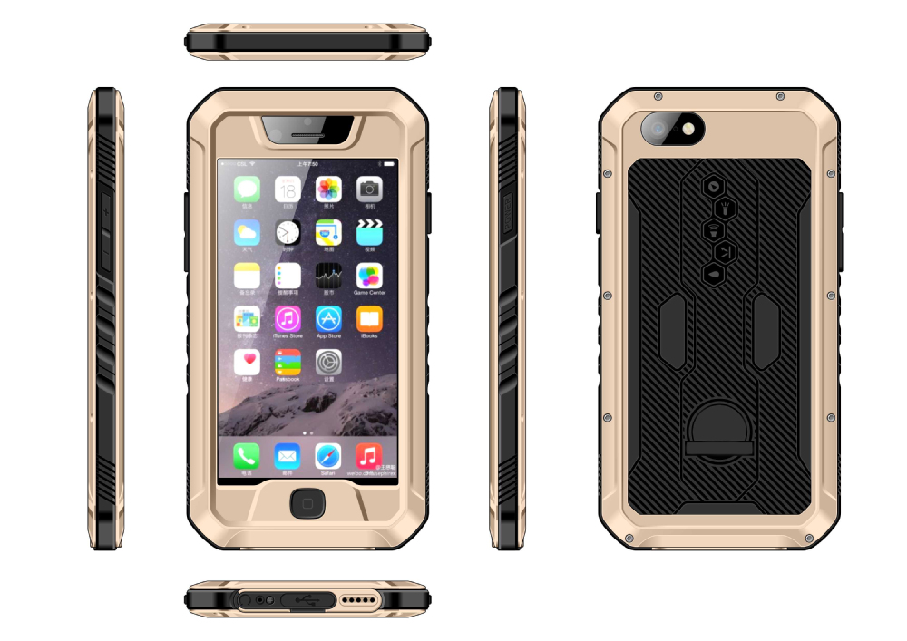 Waterproof Cellphone case mobile phone shell Case Cover, shockproof for iphone cases