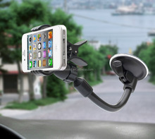Universal 360 Degree Rotation Small Sucker Clamp Car Holder for Mobile/GPS 2016