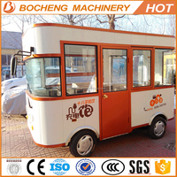 3.5m mini electric food vehicle/kitchen bus made in China !