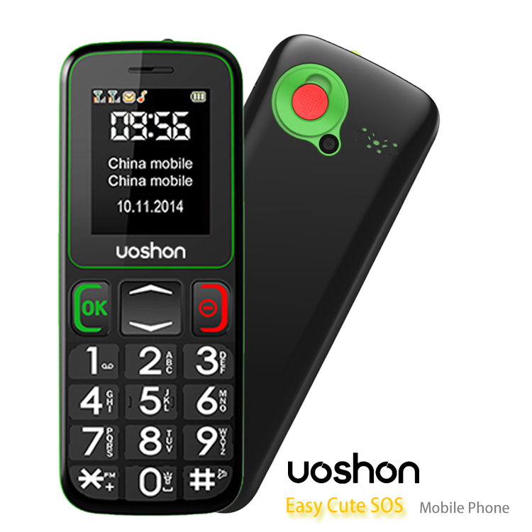 senior phone dual sim low cost large button mobile phone for elderly