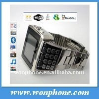 Dual Sim Card WIFI Wrist Watch Cell Phone X8
