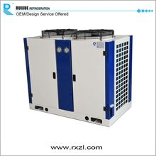 Cooling Food Refrigeration Condensing Unit With H Type FNH72 Condenser And Copeland Compressor