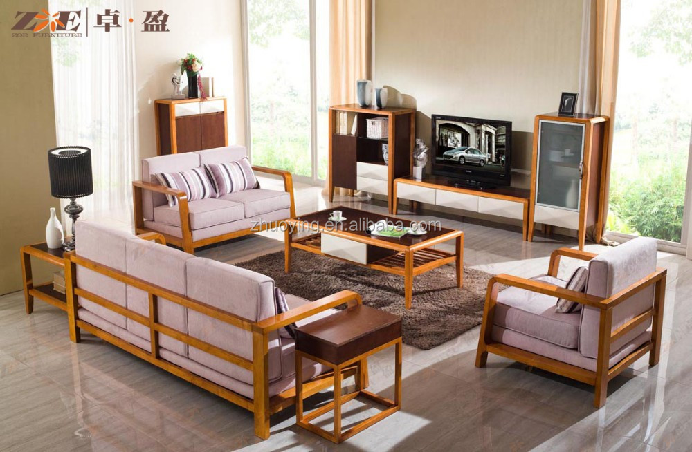 woonkamer meubels sofa set franse stijl houten meubels arm stoel