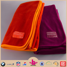 can be washed disposable airline blanket/super soft velour airline blanket/pass far25.853 airline blanket