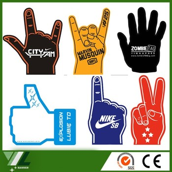 eva safety promotion finger protector for cheer