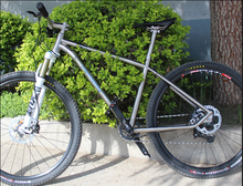 titanium alloy MTB bike