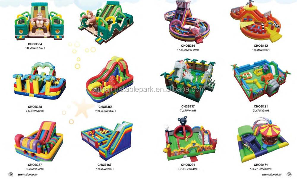 Outdoor inflatable Jumping Bouncer toys for kids playing