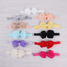 fashion elastic baby hair band with bow