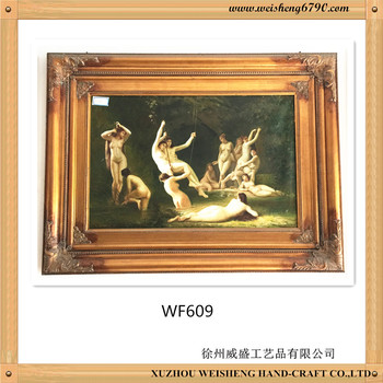 Wooden antique Mirror Frame made in china