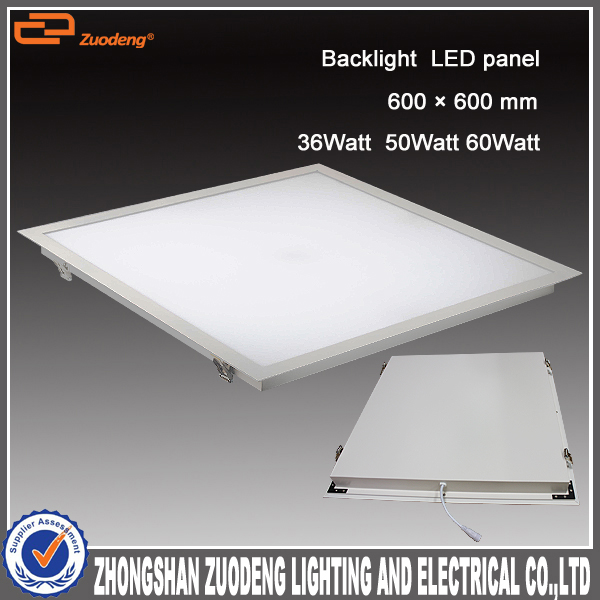 Recessed office aluminium 600*600 50w surface dimmable decorative electrical panel covers