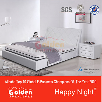 Happy night hot selling latest double bed G1137