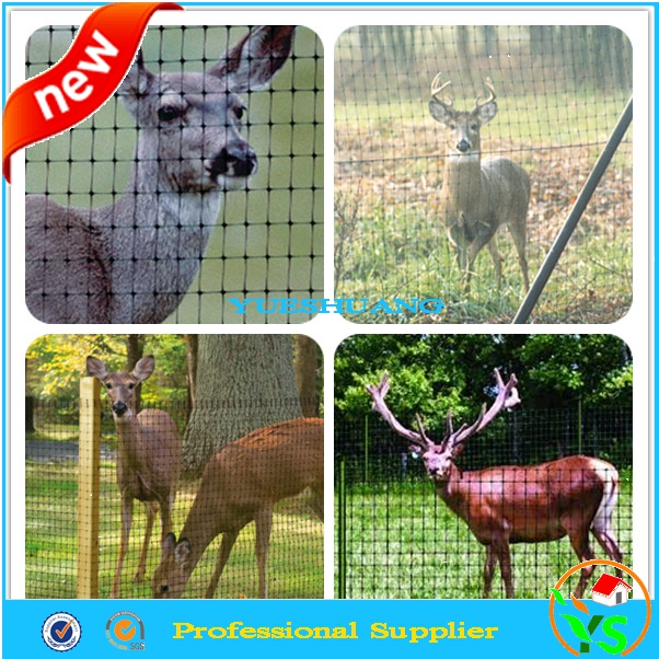 "2.1m 7ftx100' 3/4"" opening anti wild deer farming fence net"